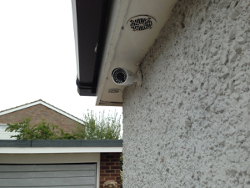 4 x 3 mp 1080p HD Installed CCTV Camera System