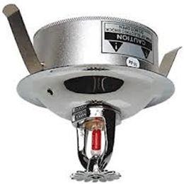 Covert Fire Sprinkler For Installed CCTV Systems