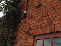 4 x 700 tvl Installed CCTV Camera System
